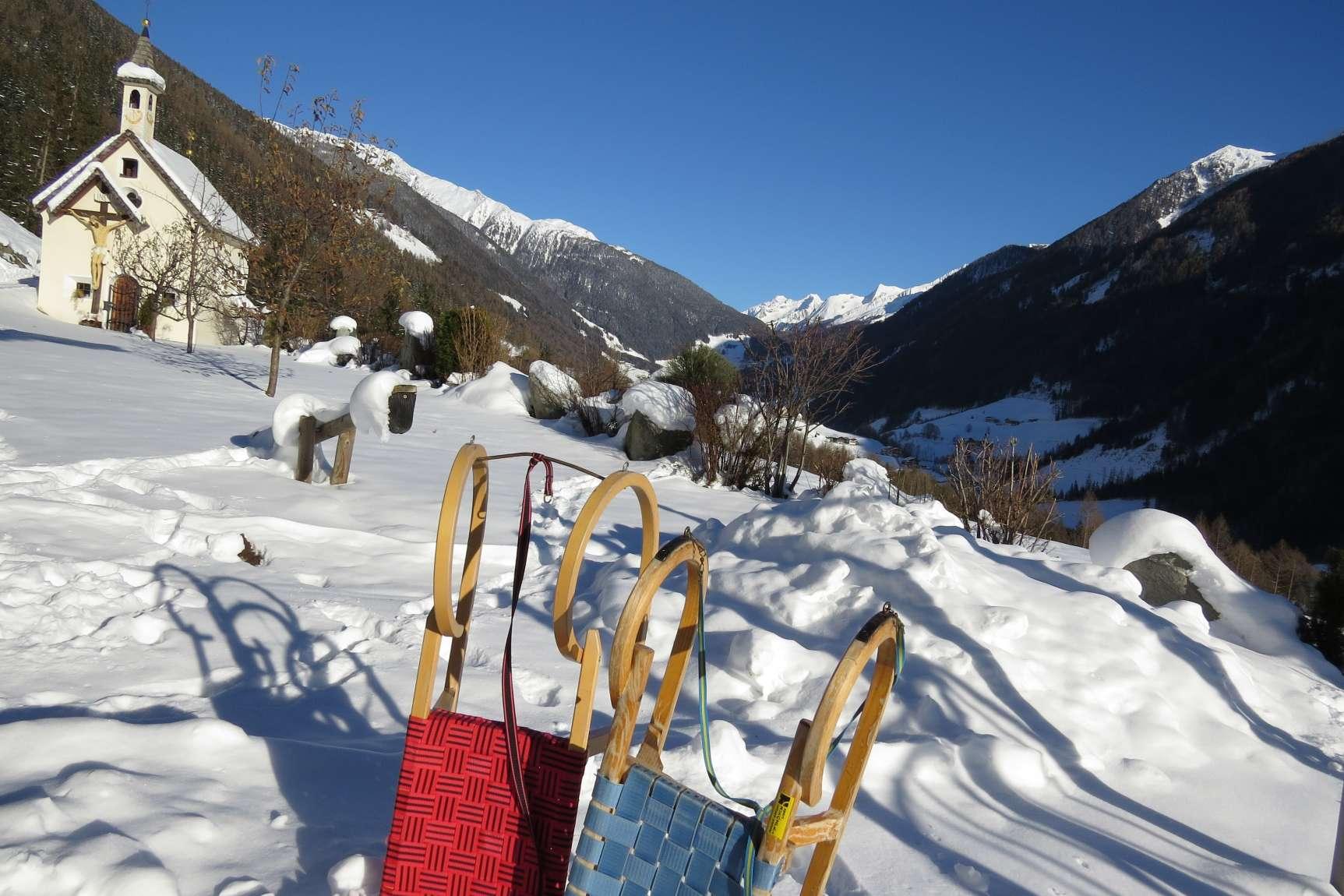Enzian Ausblick Winter 01