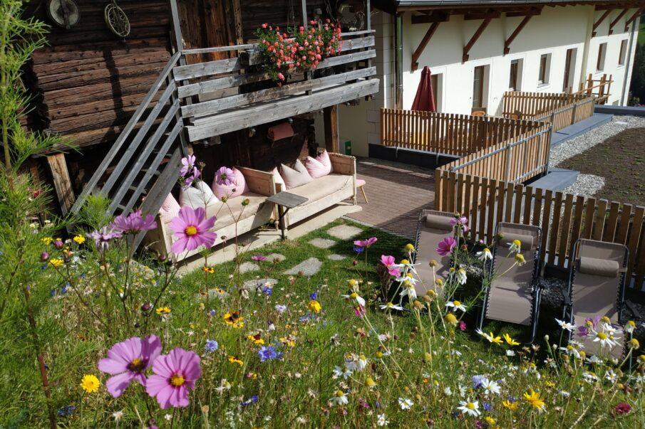 Unsere Blumenwiese, ein Traum-Entspannung pur..---il nostro prato fiorito, in sogno-puro relex